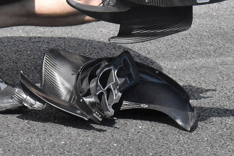 Sauber: scopriamo quanto è complicata una brake duct vista dalla parte interna