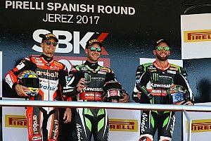 Rea gana en Jerez una carrera que tuvo en la mano Melandri hasta que rompió