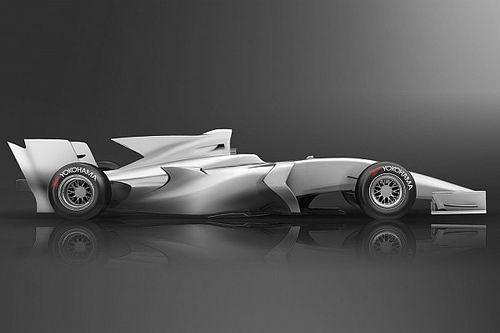 Japanische Super-Formula stellt Designstudie für 2019 vor