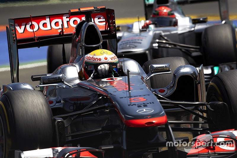 No aniversário, compare números de Hamilton com os de Schumacher aos 34