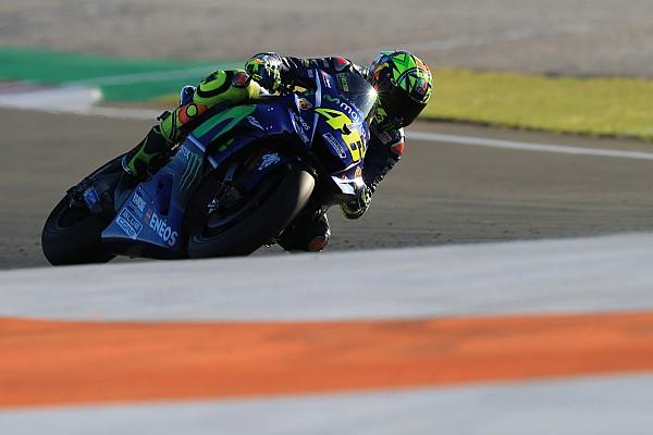 Malgré une lourde chute, Rossi satisfait de sa première journée