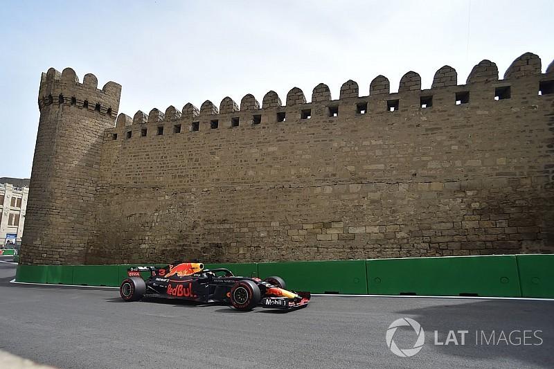 """Ricciardo primero y Alonso, """"el mejor del resto"""" en los Libres 2 de Bakú"""
