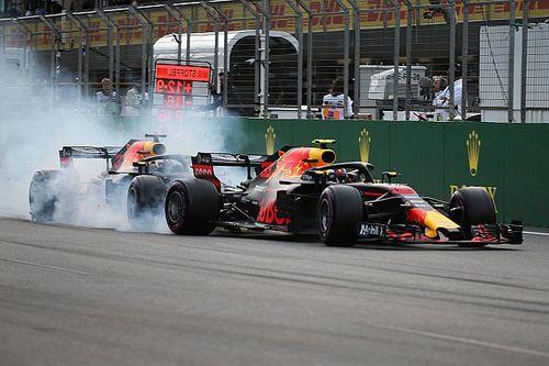 """Brawn: """"Ricciardo was een passagier bij crash met Verstappen"""""""
