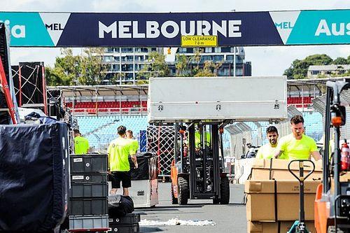 GALERI: Suasana persiapan GP Australia
