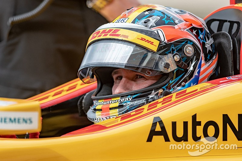 "Hunter-Reay: Missed Long Beach chances ""always on my mind"""