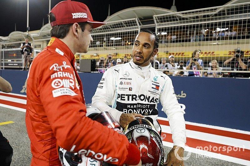 هاميلتون: فيراري تمتلك أفضليّة سرعة قصوى كبيرة في البحرين