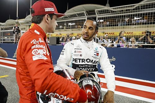 """Hamilton: """"Sorpreso dalla grande velocità di punta delle Ferrari, oggi non avrei potuto battere Leclerc"""""""