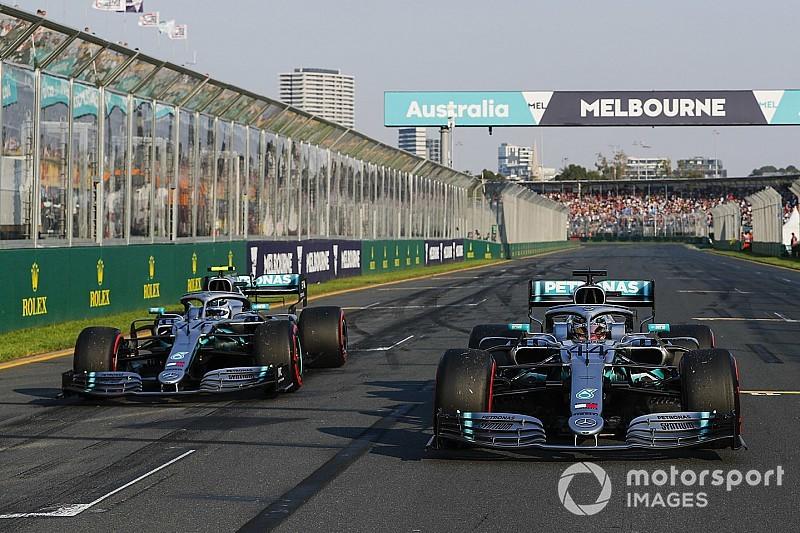 Mercedes se diz 'perplexa' e 'chocada' com vantagem para a Ferrari na Austrália