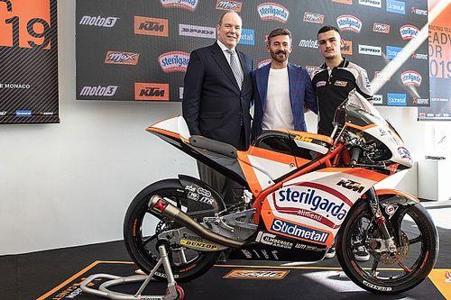 Max Biaggi pronto al debutto in Moto3 con il suo team: ecco la KTM per Aron Canet