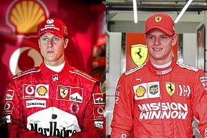 GALERIA: Veja semelhanças entre Michael e Mick Schumacher no Bahrein