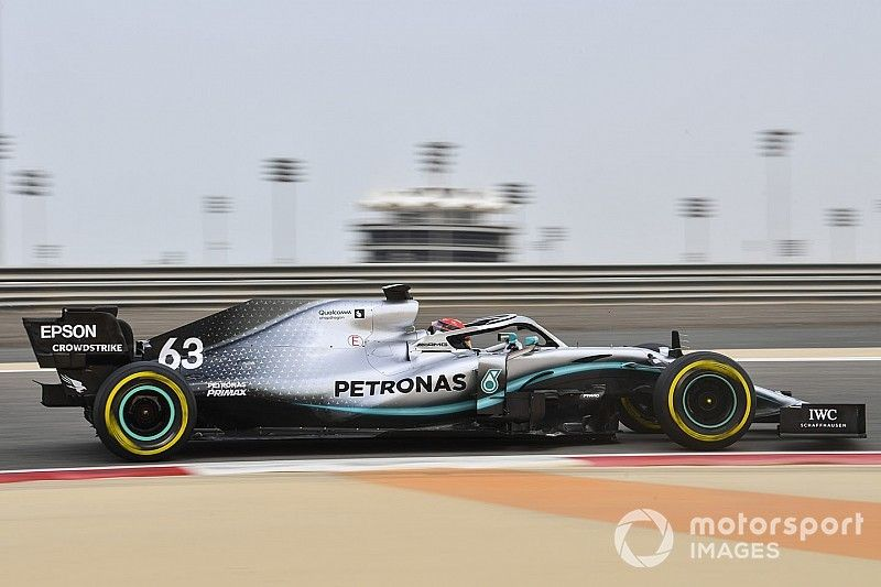 Russell says Mercedes test will help at Williams
