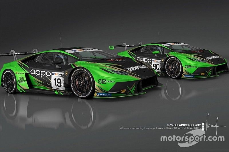 International GT Open: ecco la line-up del Raton Racing by Target