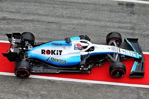 Williams prend enfin la piste à Barcelone