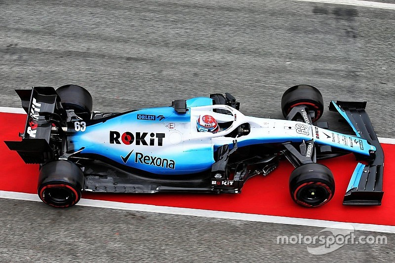 Bildergalerie: Erste Fahrbilder des neuen Williams FW42