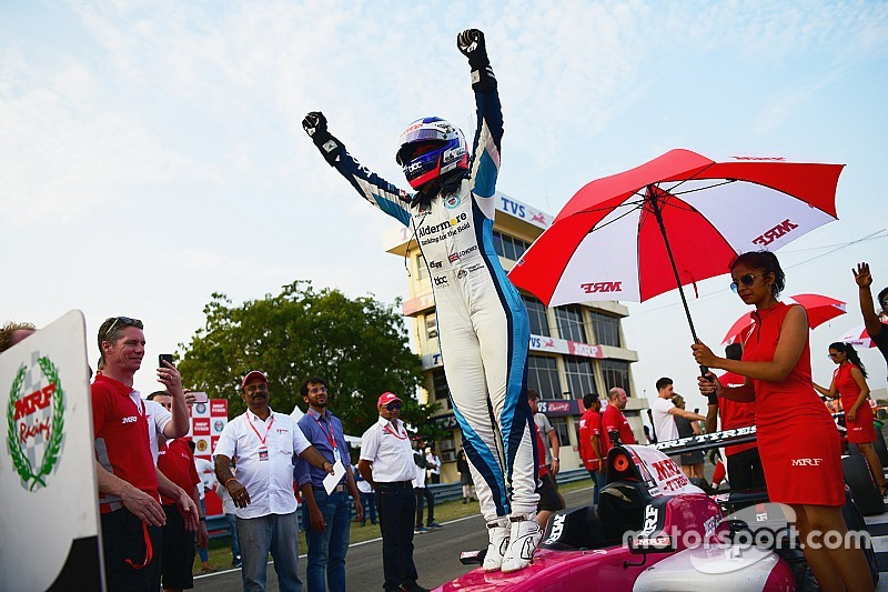 "Chadwick: First single-seater title ""huge"" for my career"