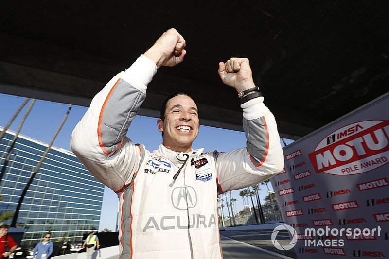 Long Beach IMSA: Castroneves and Tandy win pole positions