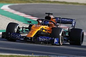 "Sainz: McLaren should be ""proud"" of first test day"