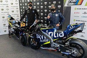Bastianini en Marini officieel gepresenteerd bij Esponsorama Racing