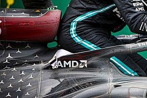 Mercedes da pistas de su W12: homenaje a Lauda ¿y negro mate?
