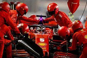 Vettel cobra revisão da Ferrari após erros nas paradas no GP de Sakhir