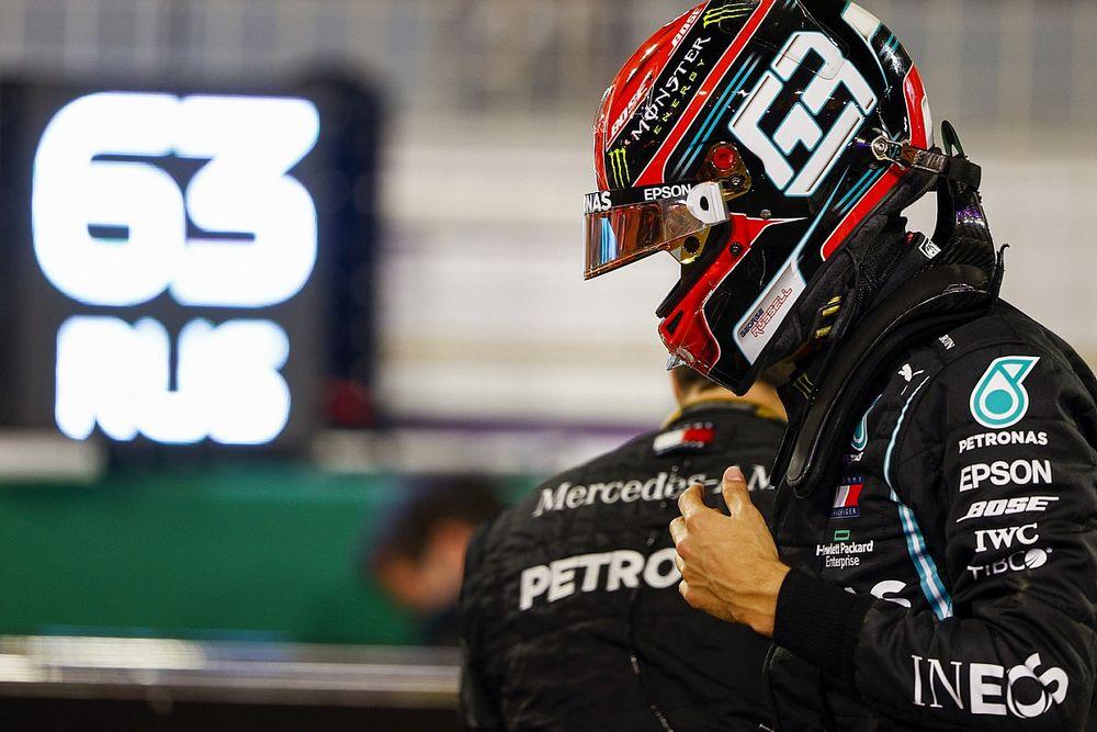 """Russell, sereno ante el salto a Mercedes: """"No me hago ilusiones"""""""
