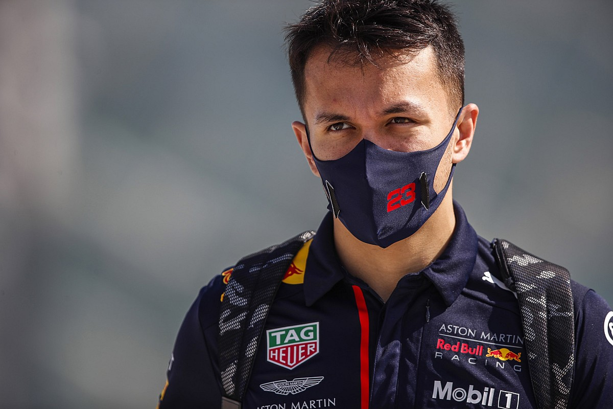 "Albon: No point ""wallowing about"" on lost Red Bull F1 drive"