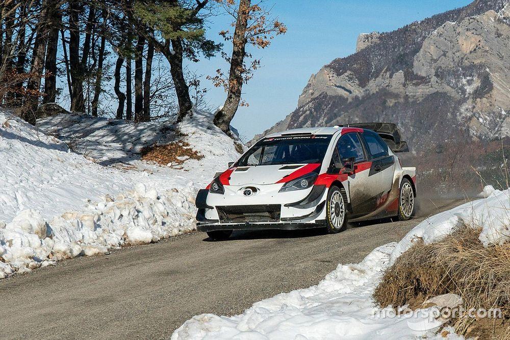 WRC, Toyota: brutto incidente nei test per Ogier e Ingrassia