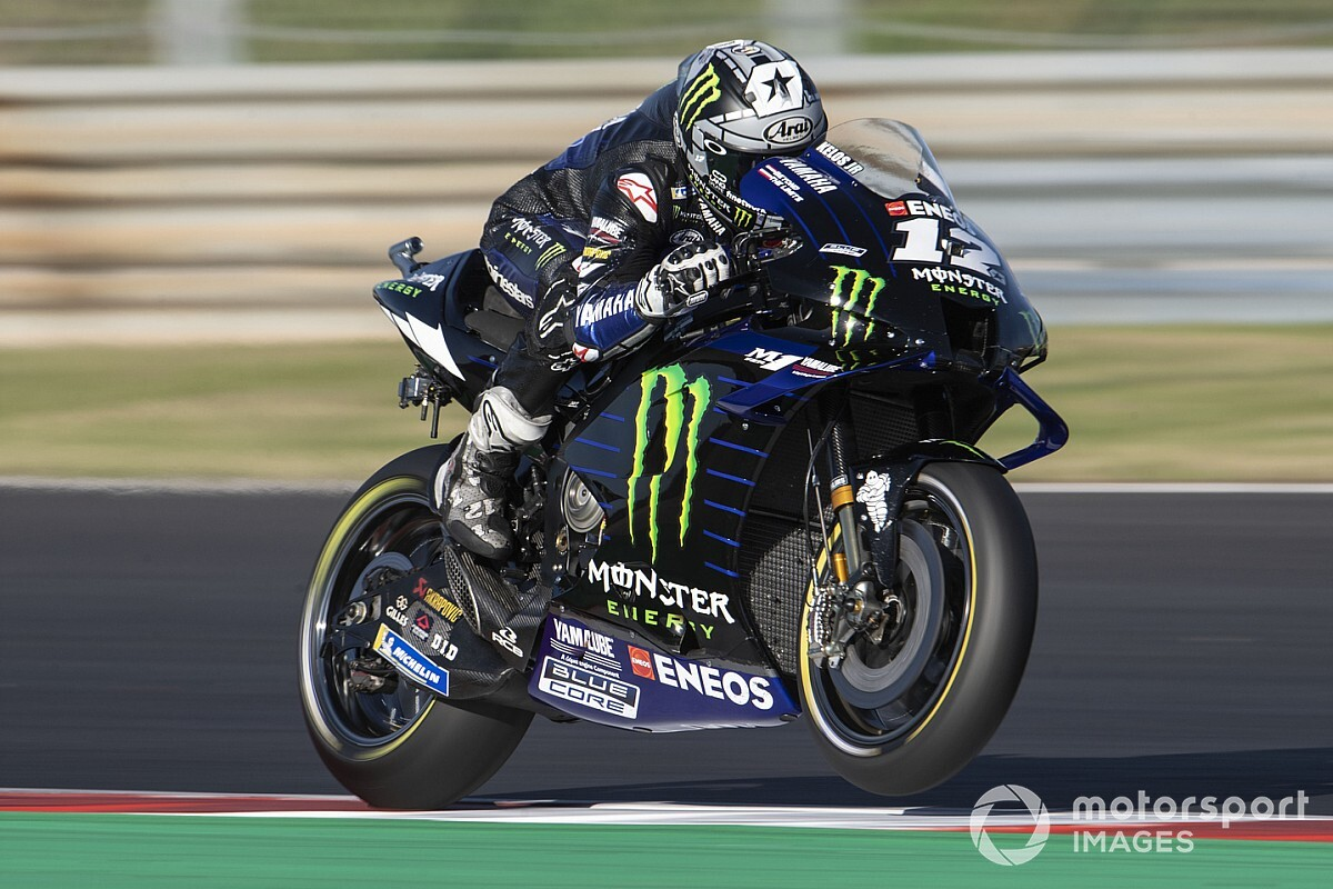 """Impossible"" to aim for MotoGP wins on Yamaha – Vinales"