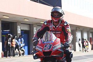 Petrucci Sulit Temukan Ritme Selama MotoGP Portugal