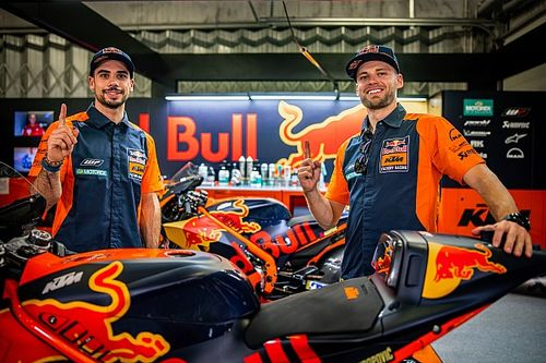 KTM Antisipasi Persaingan Oliveira dan Binder