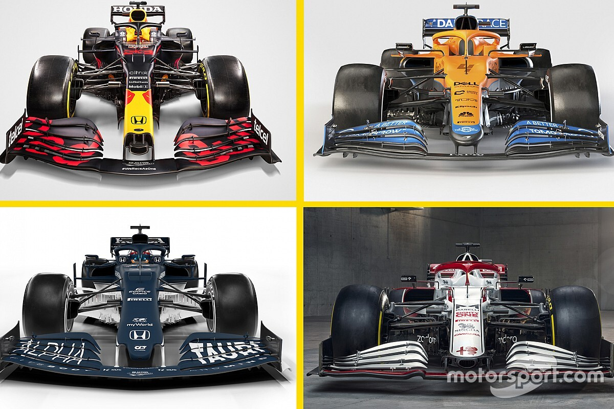 Fotos: los coches de Fórmula 1 2021 presentados hasta ahora