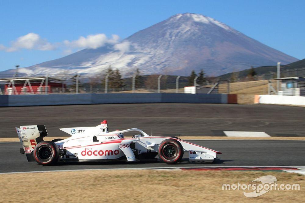 合同・ルーキーテストで5号車をドライブした福住仁嶺「色々なことが試せたテストだった」