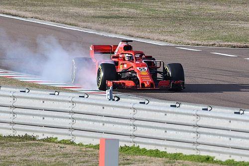 Fotogallery F1: il debutto di Sainz sulla Ferrari a Fiorano