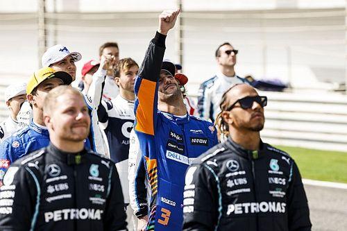 Drive to Survive: Ricciardo többet látott Bottasból, mint szeretett volna