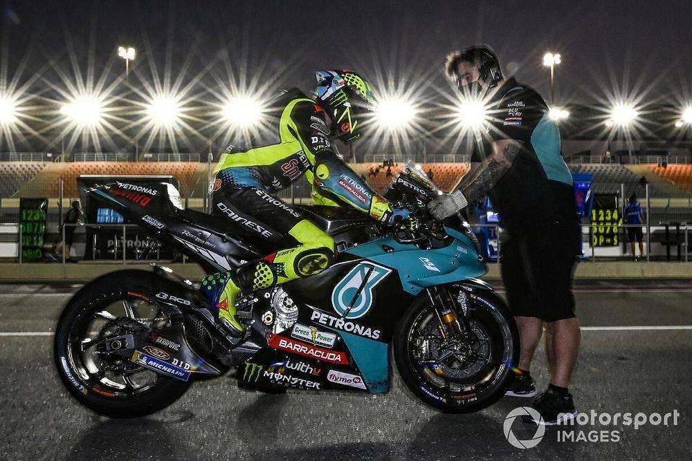 """Rossi blij met testwerk en constateert: """"Yamaha werkt slimmer"""""""