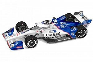 United Rentals reveals new livery for Rahal in 2021