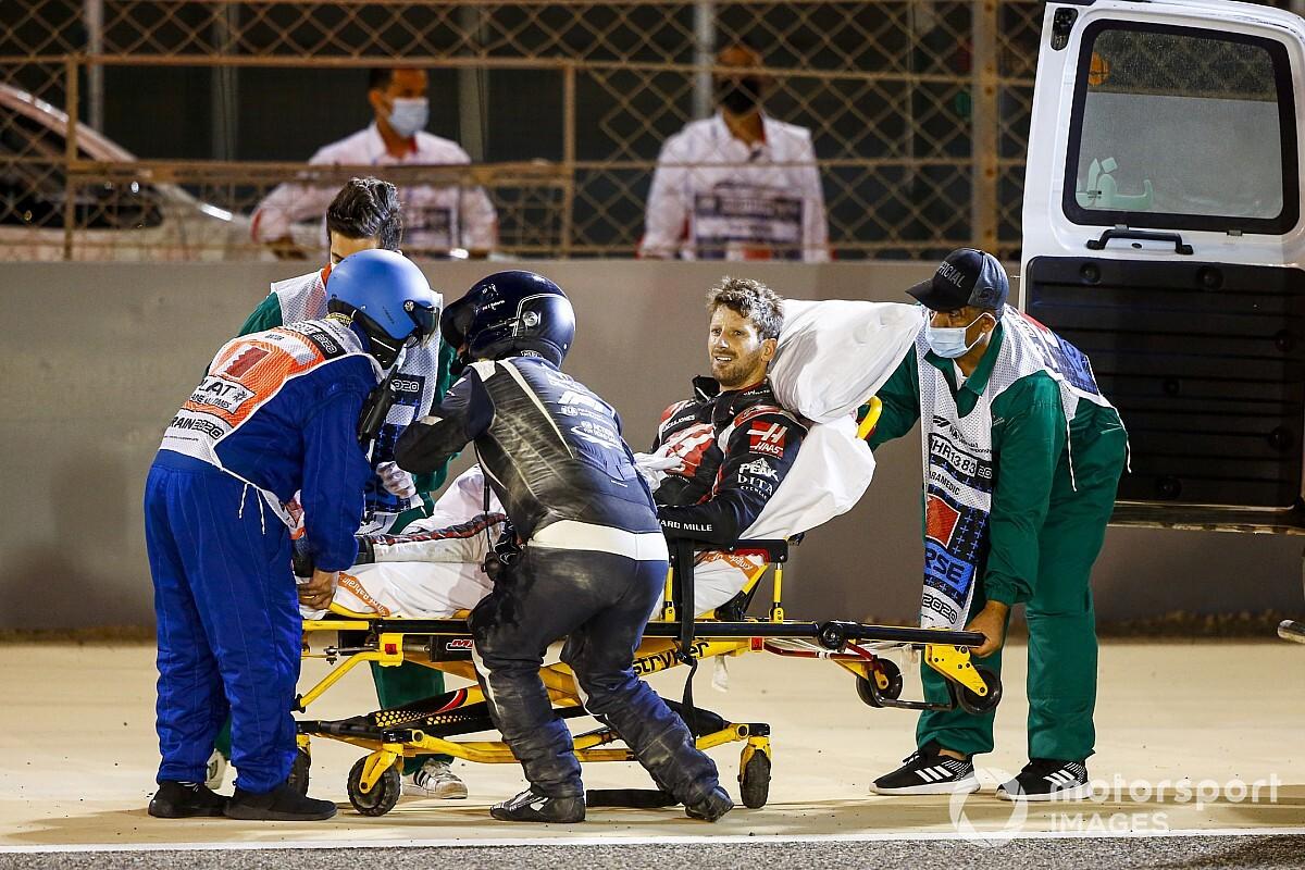 """Kvyat afirma que ficou """"irritado"""" com Grosjean antes de ver acidente pelo espelho"""