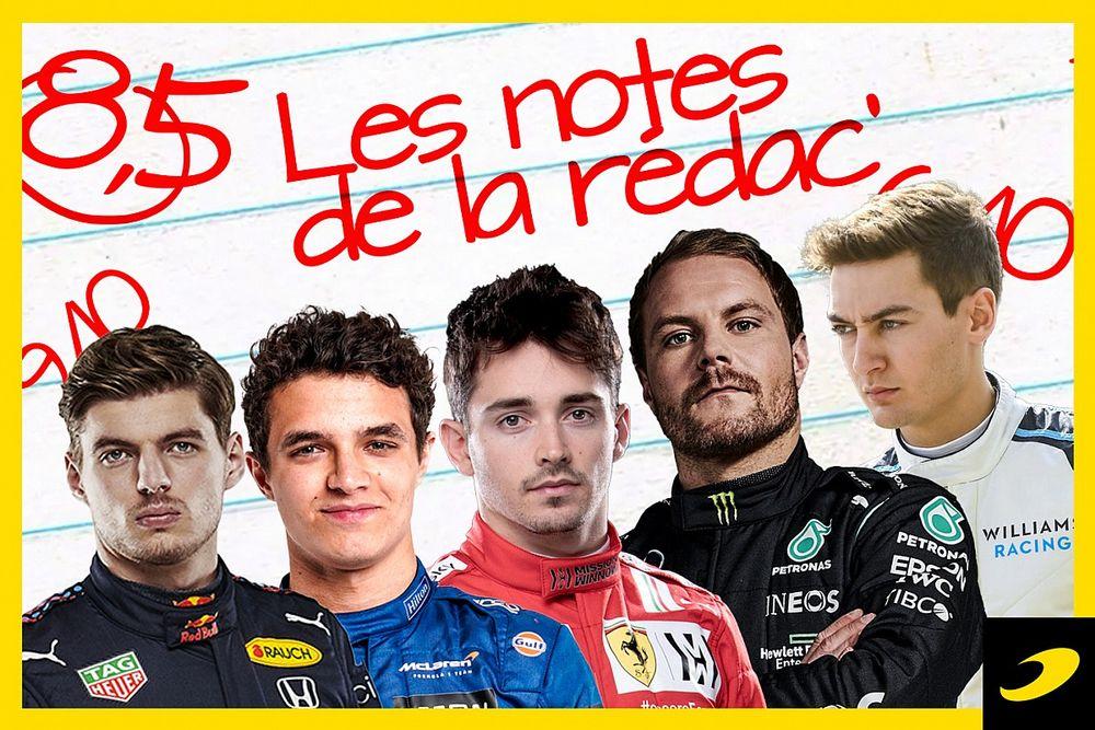 Les notes du Grand Prix de Styrie 2021