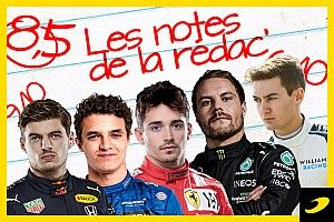 Les notes du Grand Prix d'Émilie-Romagne 2021