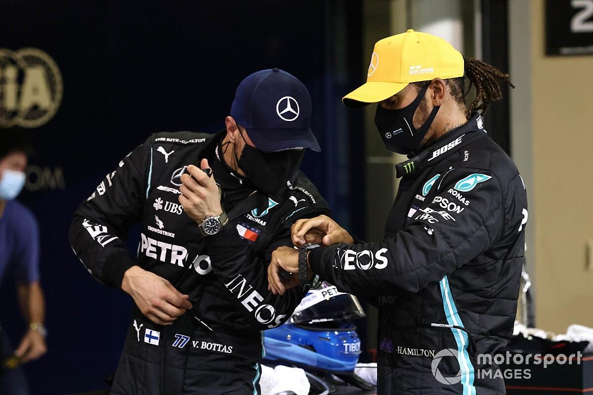 Sulit untuk Bottas Kalahkan Hamilton pada F1 2021