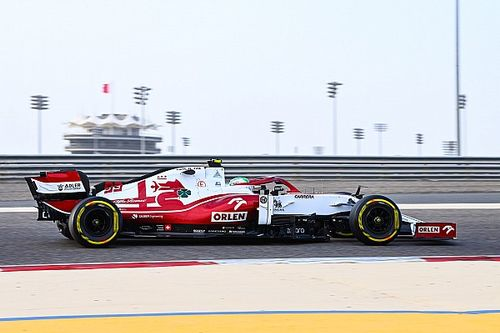 "Giovinazzi: ""Aero kurallarına rağmen, Alfa Romeo ilerleme kat etti"""