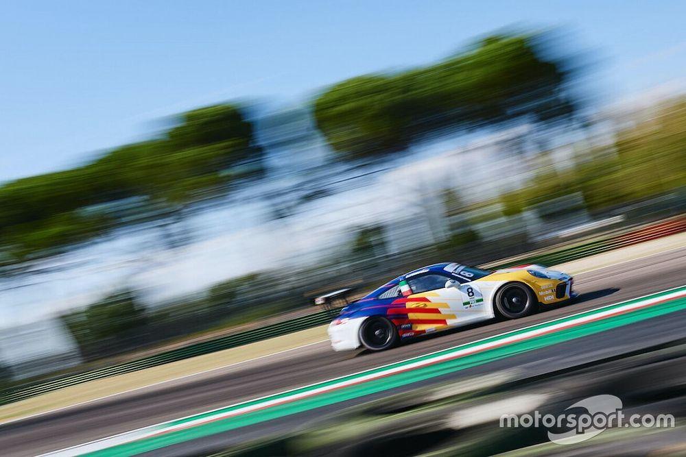 La Porsche 911 GT3 Cup per la prima volta in pista al Supercorso Federale
