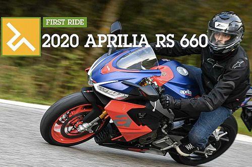 First Ride: 2020 Aprilia RS 660