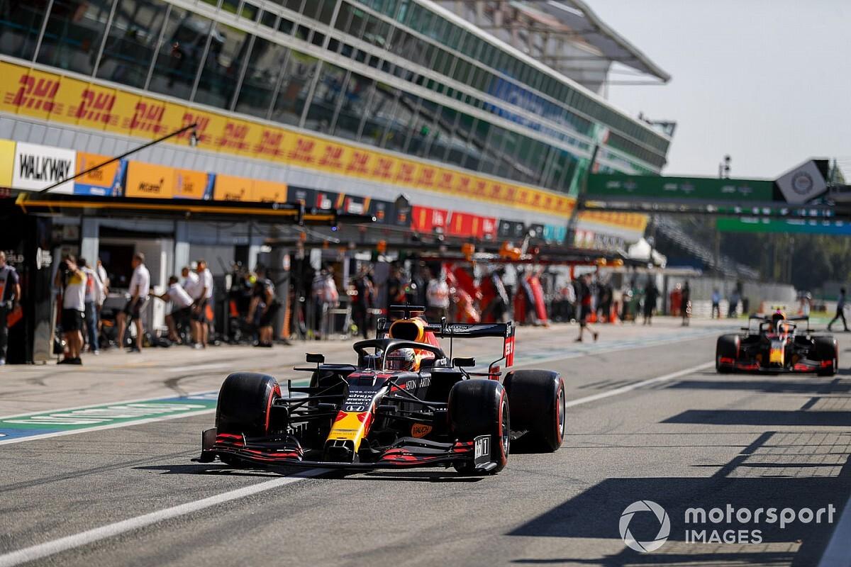 Verstappen valt uit in knotsgekke Italiaanse Grand Prix