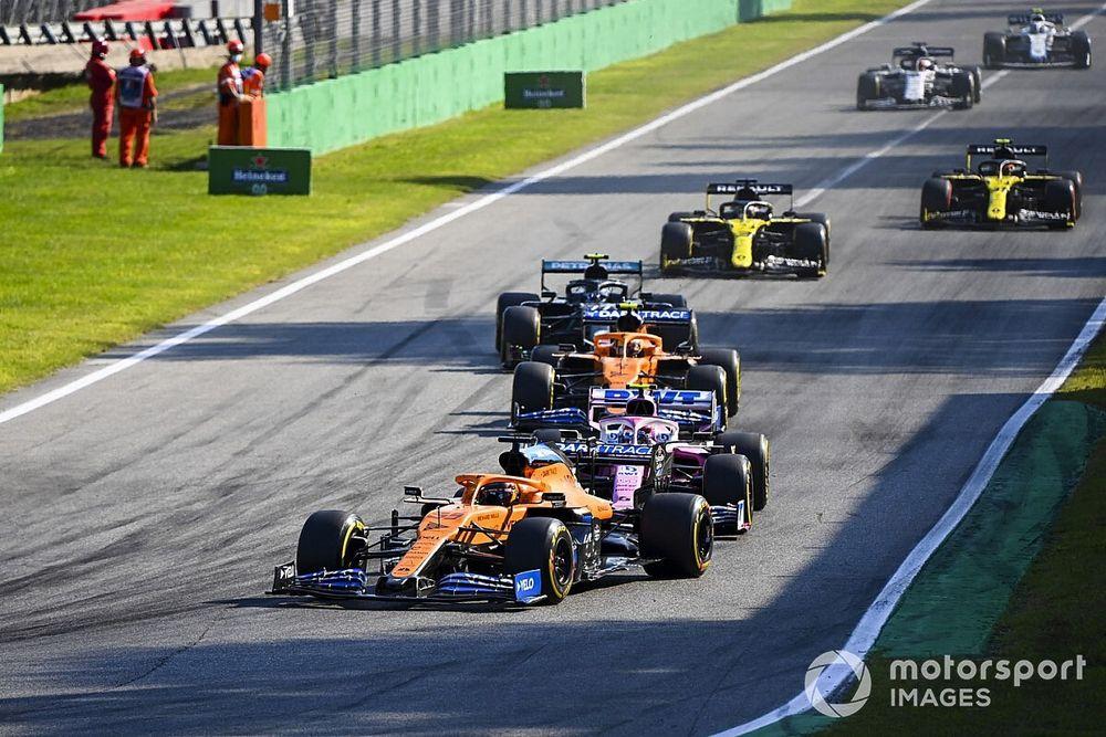 """McLaren was """"second strongest force"""" in Italian GP – Seidl"""