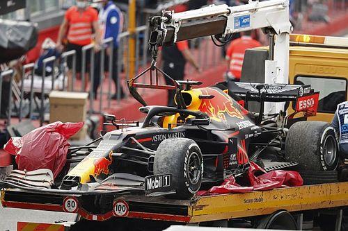 Pirelli geeft verklaring voor klapband Verstappen in Imola