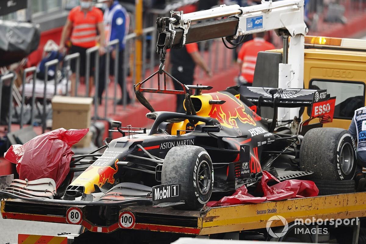 Pirelli bezig met onderzoek naar klapband Verstappen