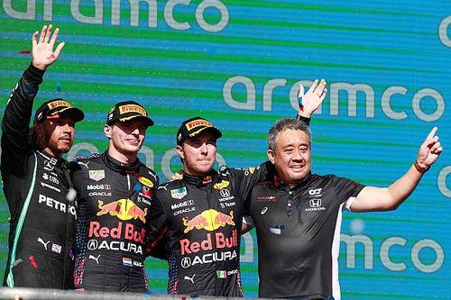 戦略バッチリで米国GP制覇。ホンダ田辺豊治TD「レッドブル・ホンダとして、チーム力を発揮できた」