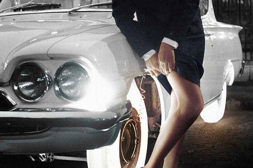 ¿Sabes que existían los neumáticos translúcidos y luminosos?