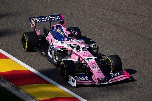 Pérez cambiará de motor sin penalizar en Spa